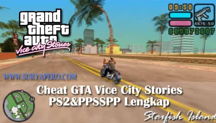 cheat gta vice city stories ps2
