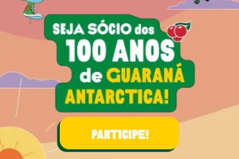 Cadastro 100 Anos Guaraná Antarctica