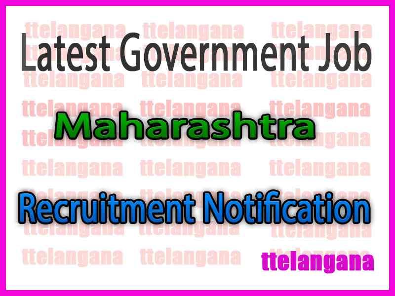 Latest Maharashtra Government Job Notifications