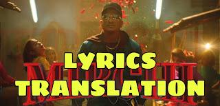 MIRCHI LYRICS IN ENGLISH | WITH TRANSLATION | – DIVINE