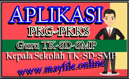 Aplikasi PKG PKKS TK SD SMP Versi Terbaru Saat Ini