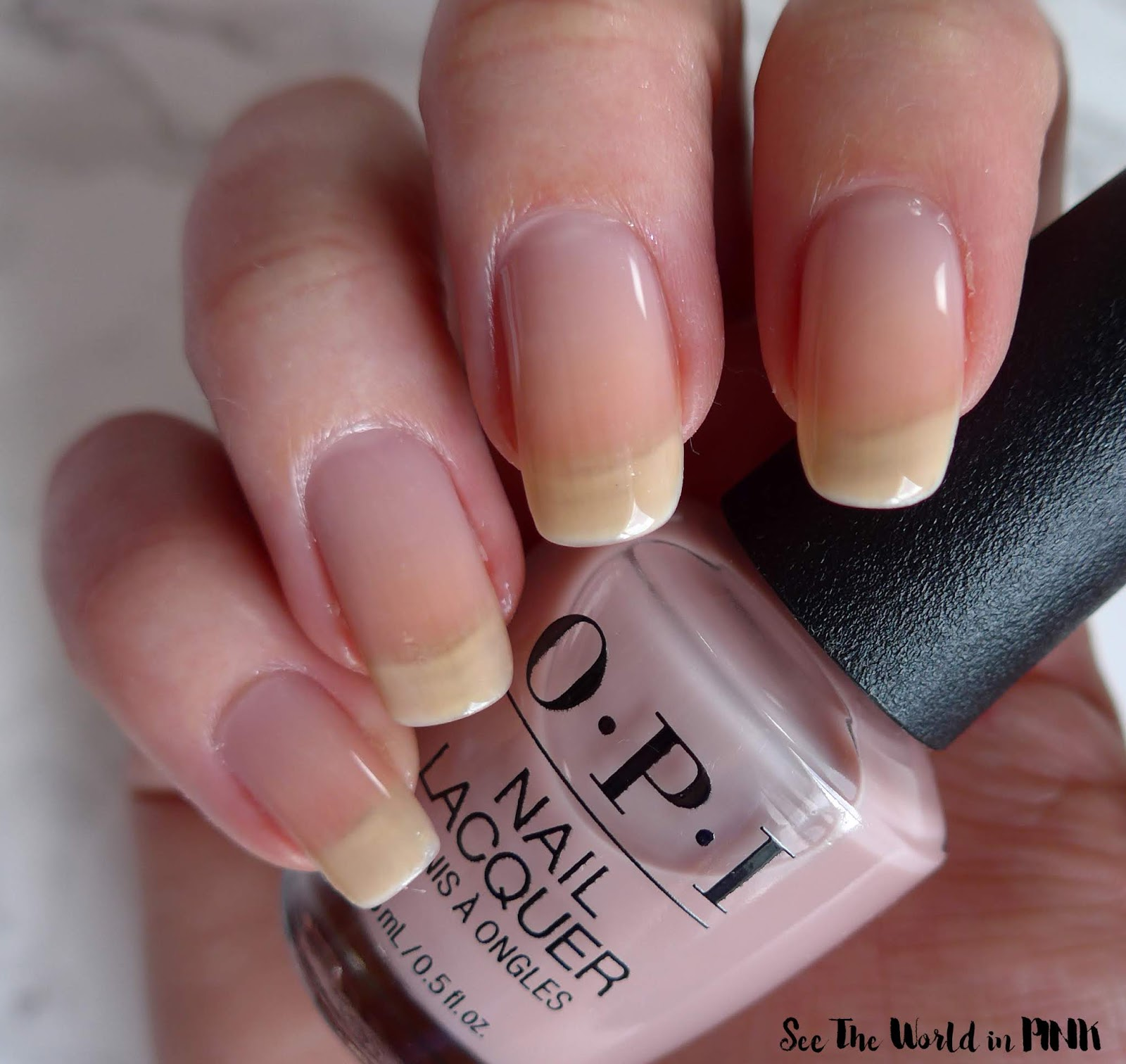 OPI Always Bare For You - Bare My Soul