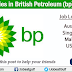 Job Vacancies in British Petroleum - Australia | UK | US | Singapore | Malaysia