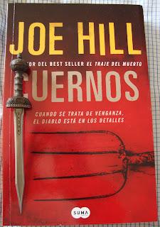 Portada del libro Cuernos, de Joe Hill