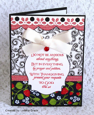 ODBD Scripture Collection 4, Card Designed by Loretta Grace