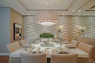 Dicas para Iluminar a Sala de Jantar