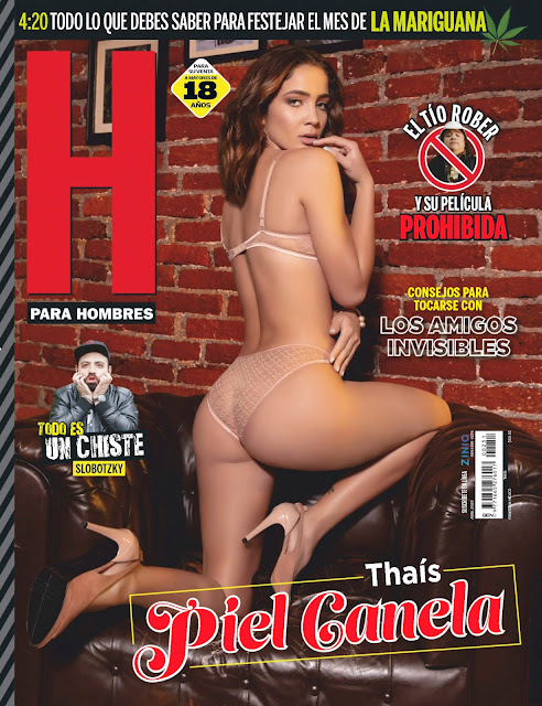 Thais Revista H Abril 2020  [FOTOS+PDF]