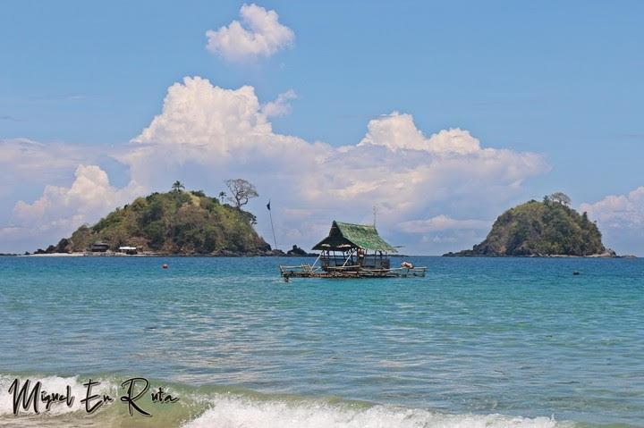 Paisajes-Nacpan-Beach
