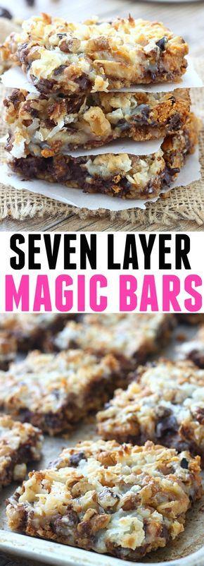 Seven Layer Magic Bars