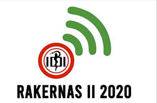 Logo Rakernas PB IDI 2020