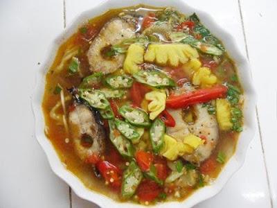 Nấu món canh riêu Cá Quả