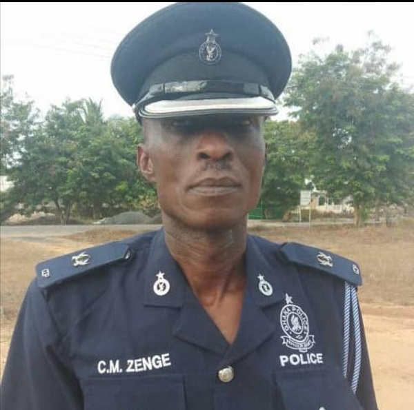 The late Superintendent of Police Zeprain Zenge