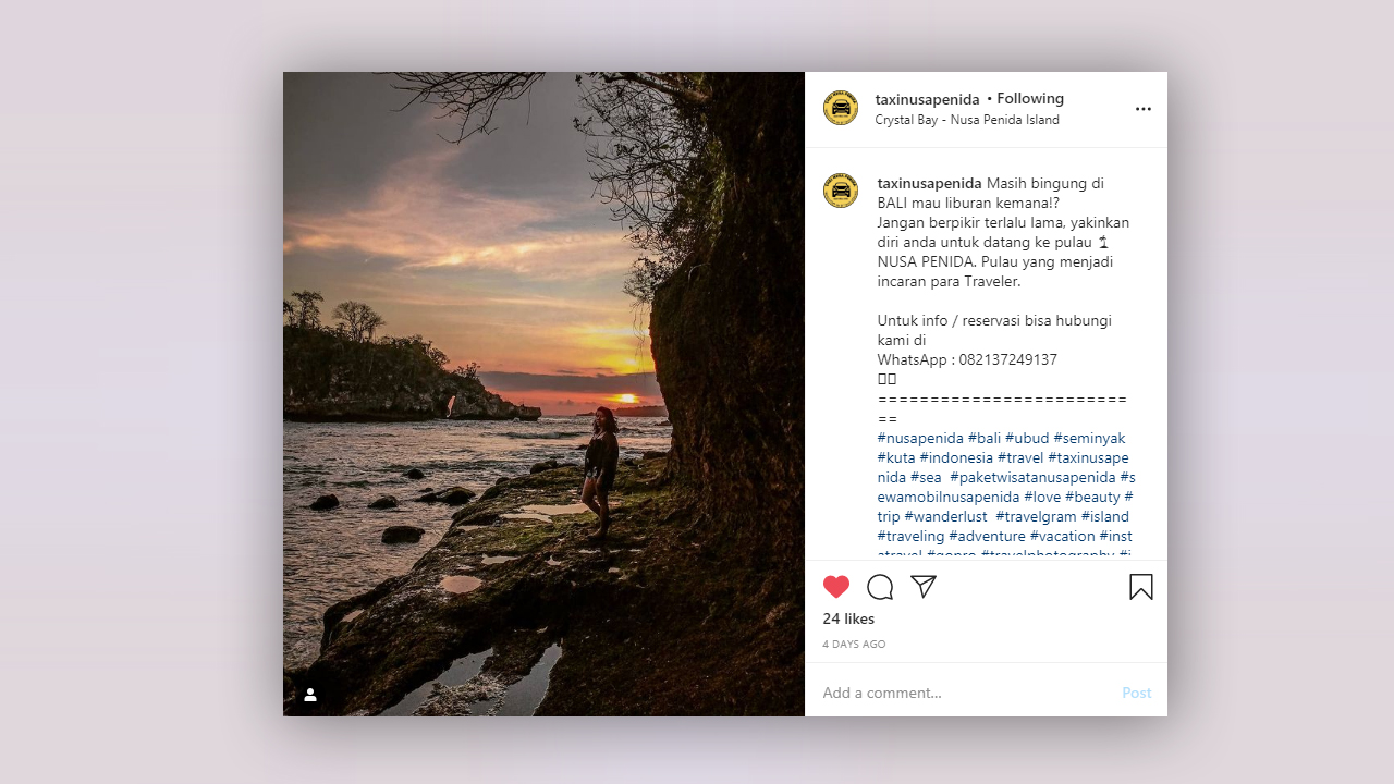 Objek Tempat Destinasi Wisata Wajib Dikunjungi di Nusa Penida Barat - Info Nusa Penida