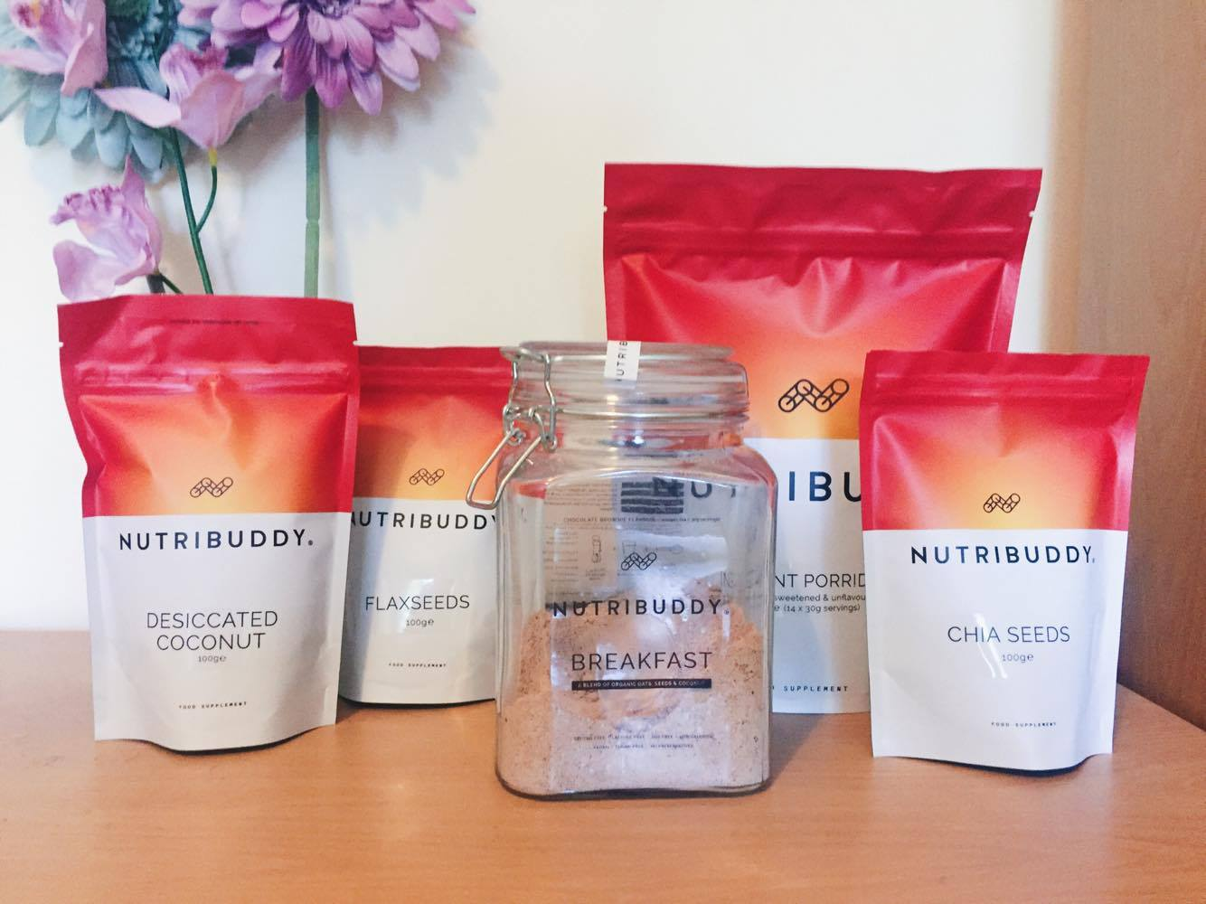 nutribuddy breakfast kit