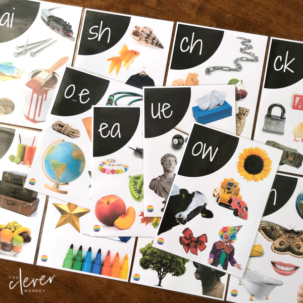 Digraph Editable Wall Posters   you clever monkey