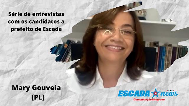 Em entrevista, Mary Gouveia se compromete com salários em dia, conclusão da UPAE e construção de creches