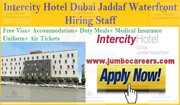 Urgent Dubai hotel jobs, Free visa accommodation jobs in Dubai,