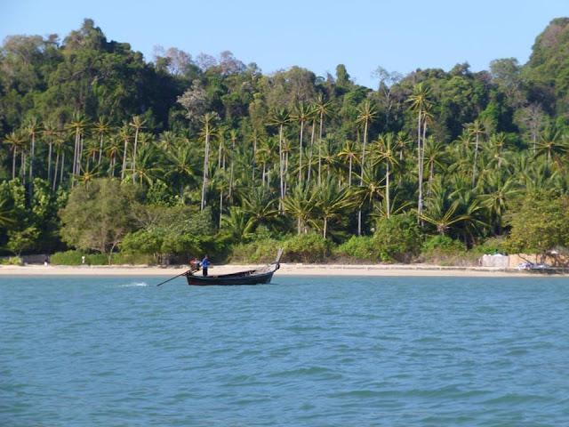 Railay Beach by boat