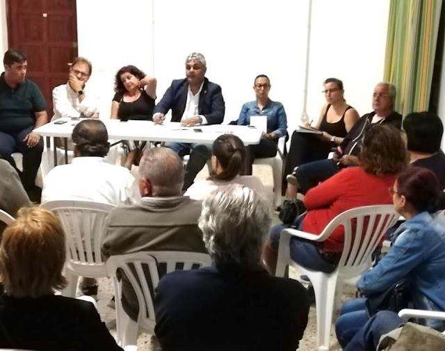 Fuerteventura.- Grupo de Gobierno de Puerto del Rosario sigue manteniendo un contacto directo con los vecinos de los pueblos del municipio.