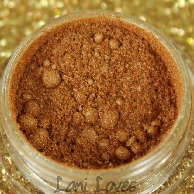 Fyrinnae - Caramel Layer Cake Eyeshadow Swatches & Review