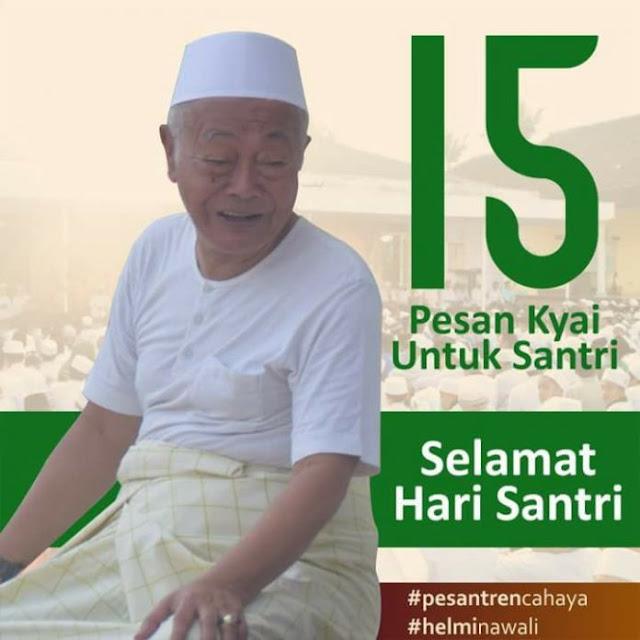 15 Pesan Kyai untuk Hari Santri