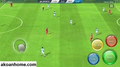 تحميل لعبة فيفا 16 محدثة مود فيفا 20 للاندرويد FIFA 16 - FIFA 2020 APK+OBB