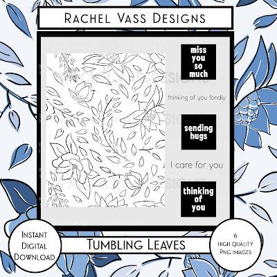 Rachel Vass Designs - Tumbling Leaves