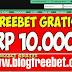 Ijobet Bonus freebet Gratis Rp 10.000