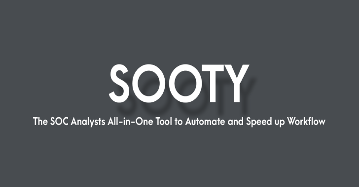 Sooty : The SOC Analysts All-In-One CLI Tool To Automate & Speed Up Workflow