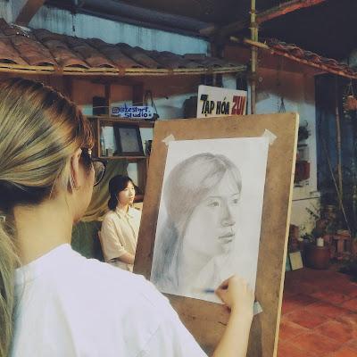 Khóa học chân dung người từ hình họa căn bản