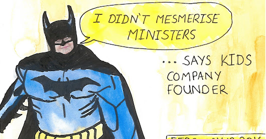 Mailart 365: 36 - Batman(ghelidjh) not responsible for hypnosis