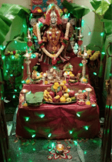varalakshmi vrata decoration