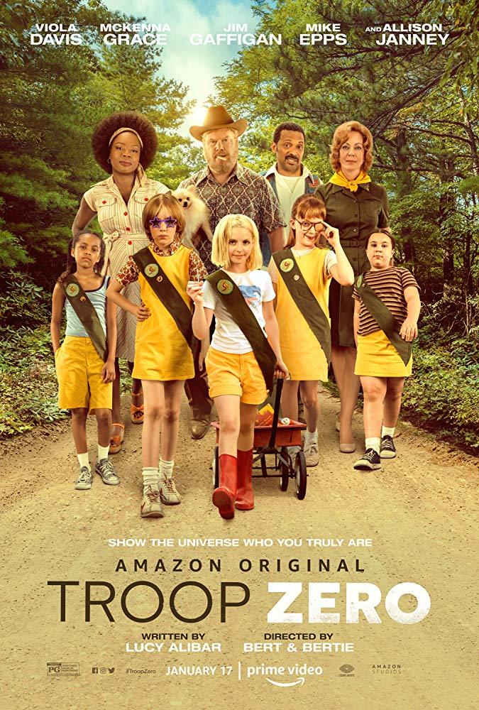 Troupe Zero 2019 HD 1080p Español Latino poster box cover