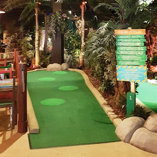 Treetop Adventure Golf at St David's in Cardiff