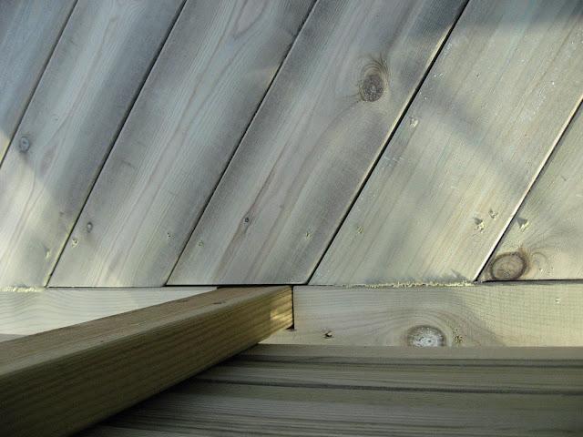 Bygge terrasse - tips. Flere detaljer på terrassen. Furulunden