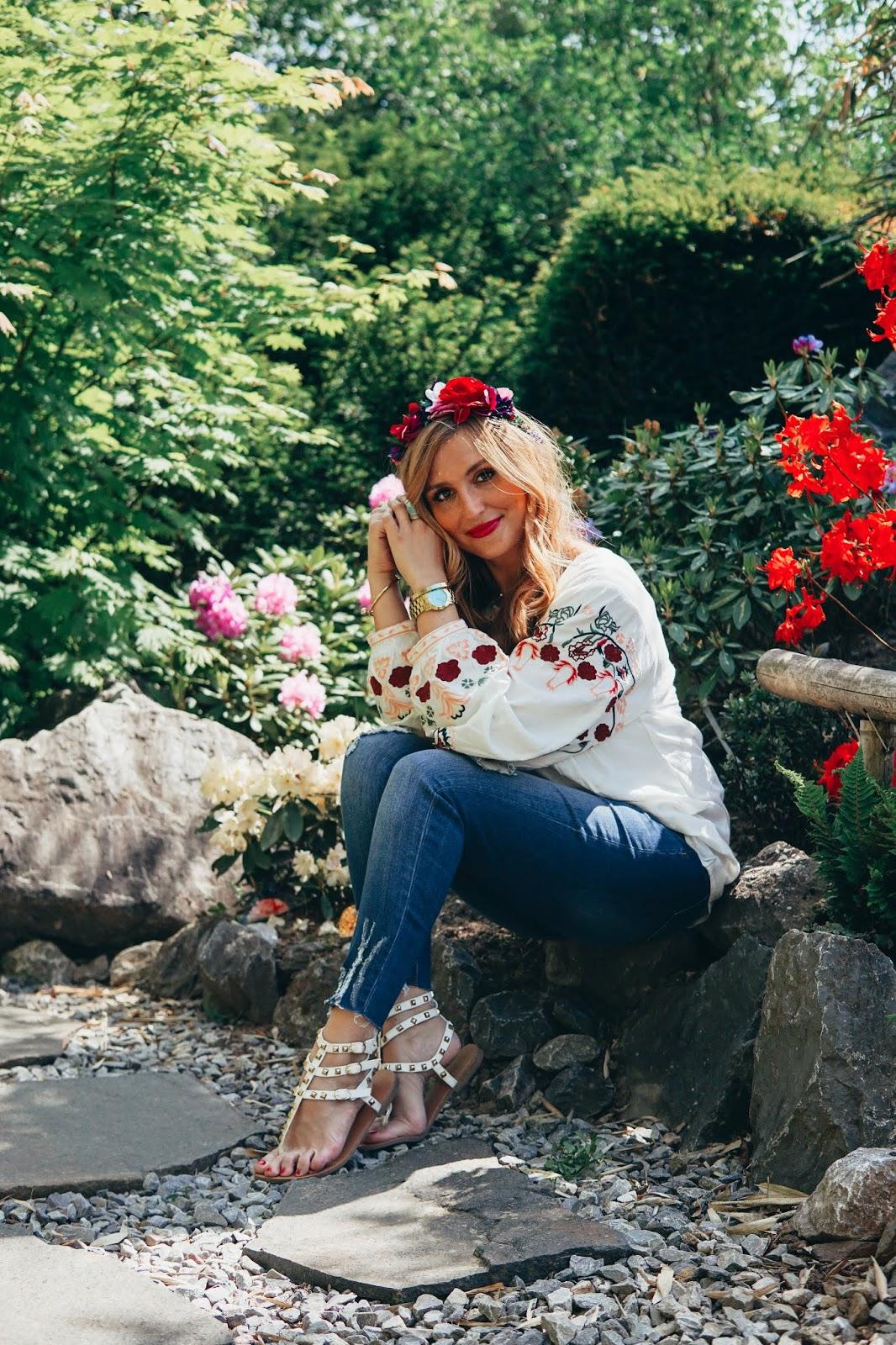 BAUR-Ethno-Bluse-skinny-Jeans-sommer-look-fashionstylebyjohanna