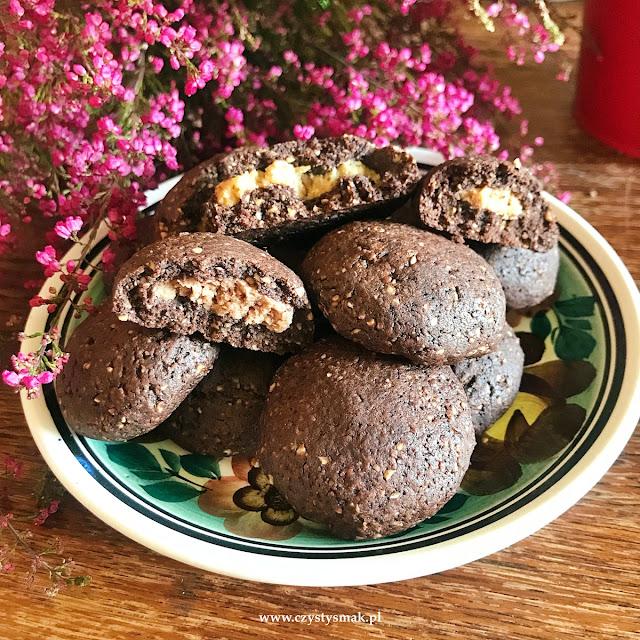 niskowęglowodanowe ciasteczka brownie