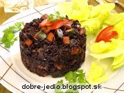 Rizoto z čiernej ryže - recept