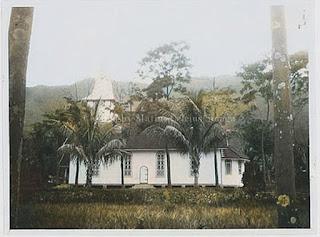salah satu gereja di samosir tempo dulu