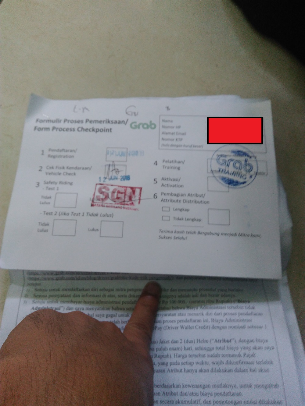 Pengalaman Daftar Ojek Online Grab Di Cibubur Aam Eguchi
