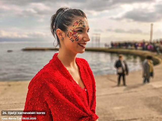 U Opatiji održan 24. Dječji karnevalski korzo 09.02.2020