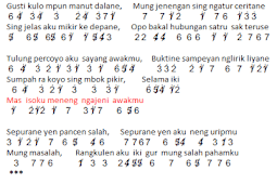 Not Anga Lagu SATRU - Happy Asmara ft. Denny Caknan