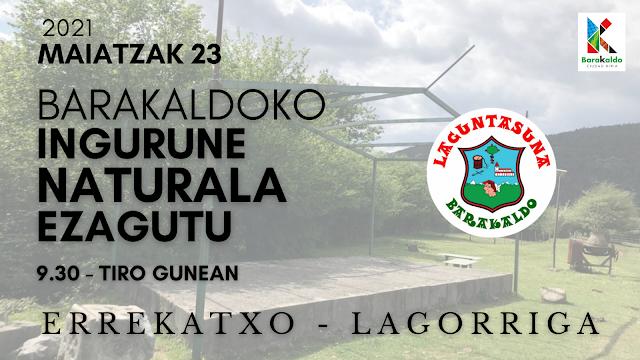 Gure ingurune naturala ezagutu: Errekatxo - Lagorriga