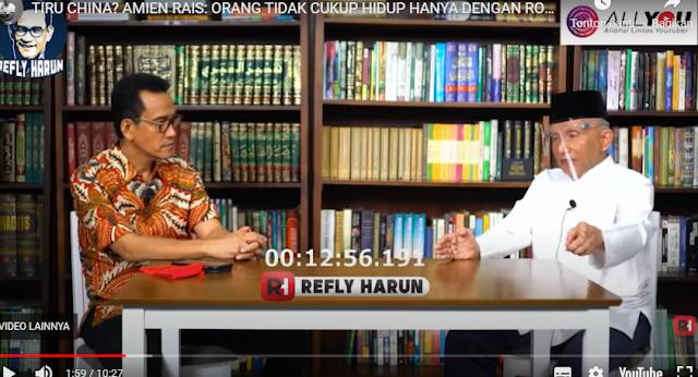 Sebut Rezim Jokowi Bahaya, Amien Rais: Zaman Pak Harto saja Gak Begini, DPR-DPD Takluk