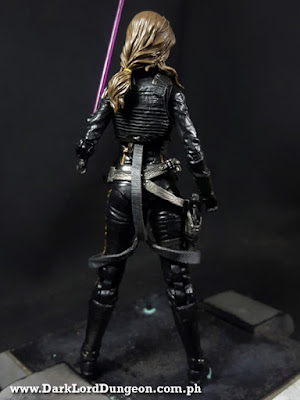 Star Wars Black Series Jaina Solo Action Figure Back