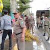 Pol PP Sungaipenuh Kembali Tertibkan Pedagang Kaki Lima