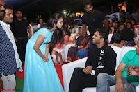 Pujita Ponnada in transparent sky blue dress at Darshakudu pre release ~  Exclusive Celebrities Galleries 052.JPG