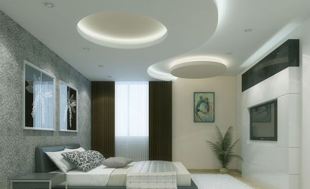 24 Modern POP Ceiling Designs And Wall Design Ideas