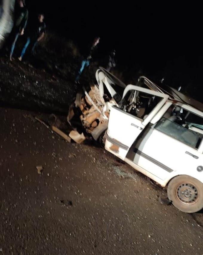 Acidente com vítima fatal é registrado na BR 158 em Laranjeiras do Sul