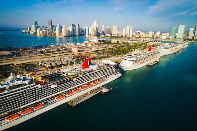 Estrutura do Port Miami: o porto de Miami